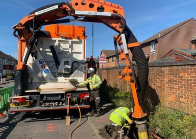 Vacuum Excavation Gillingham