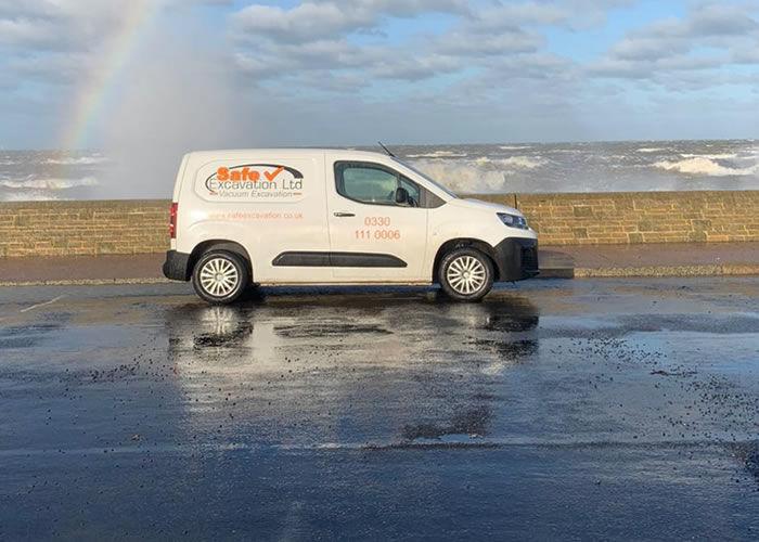 Safe Excavation Ltd Van